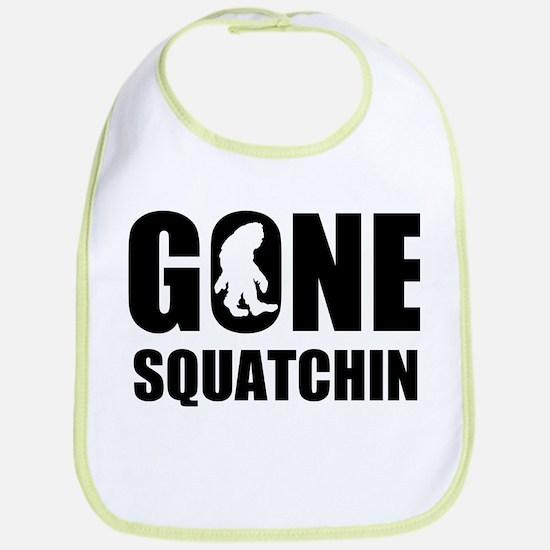Gone sqautchin Bib