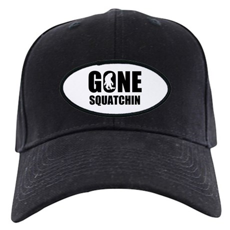 Gone sqautchin Black Cap