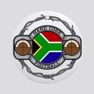 South Africa Football Ornament (Round)