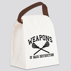 Lacrosse Weapons of Mass Destructions Canvas Lunch