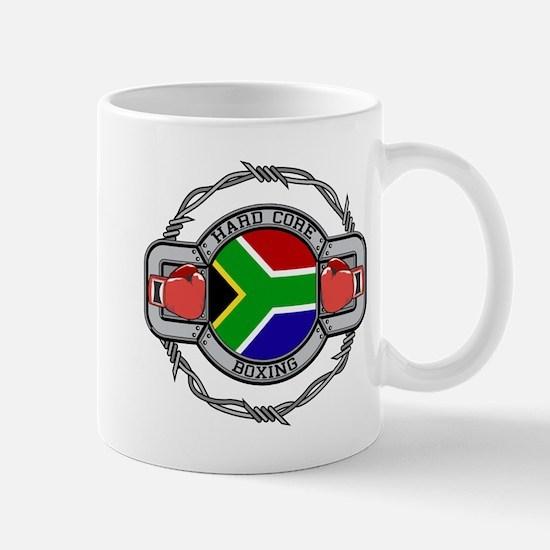 Hard Core South Africa Boxing Mug