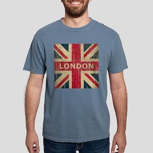 SquareUnionJack1 Mens Comfort Colors Shirt