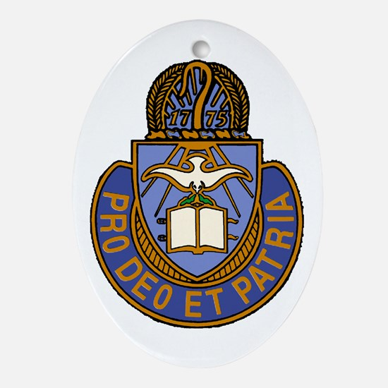 Chaplain Crest Ornament (Oval)