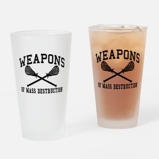 Lacrosse Weapons of Mass Destructions Drinking Gla