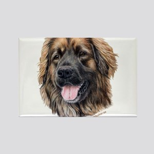 Leonberger Rectangle Magnet