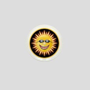 Smiling Sunshine Mini Button