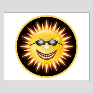 Smiling Sunshine Small Poster