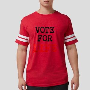 Vote for LIFE Mens Football Shirt