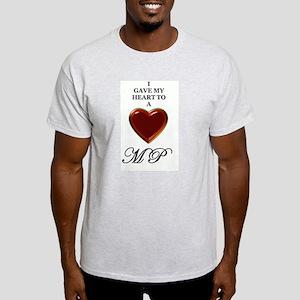 mp Ash Grey T-Shirt