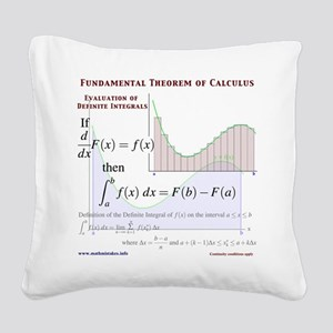 FTC Square Canvas Pillow