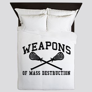 Lacrosse Weapons of Mass Destructions Queen Duvet