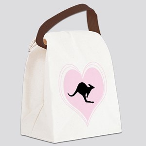 Love Roos Canvas Lunch Bag
