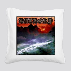 Bathory Square Canvas Pillow