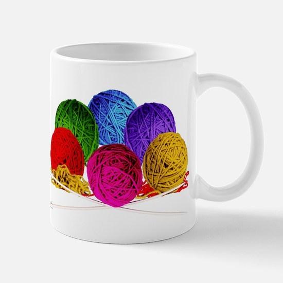 Great Balls of Bright Yarn! Mug