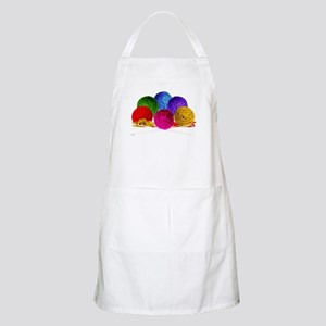 Great Balls of Bright Yarn! Apron