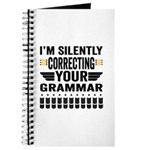Silently Correcting Your Grammar Journal
