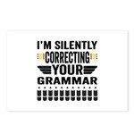Silently Correcting Your Grammar Postcards (Packag