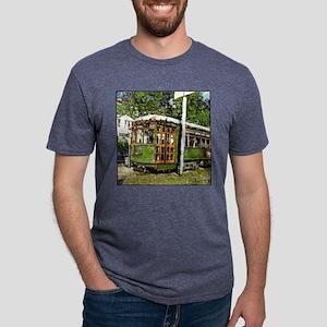 10X10 STREET CAR Mens Tri-blend T-Shirt