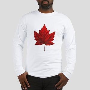 Canada Maple Leaf Souvenir Art T-shirts Gifts Long