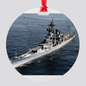 BB 63 Missouri Round Ornament