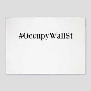 Occupy Wall St. 5'x7'Area Rug