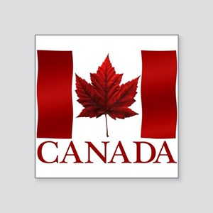 Canada Flag Souvenirs Canadian Maple Leaf Gifts Sq