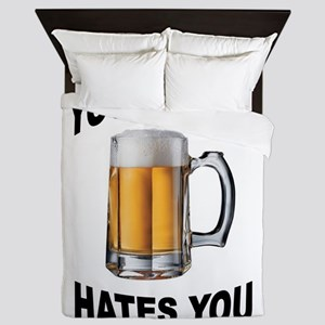 LIVER BEER Queen Duvet