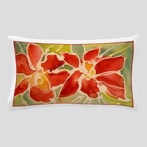 Red orchids! Beautiful art! Pillow Case