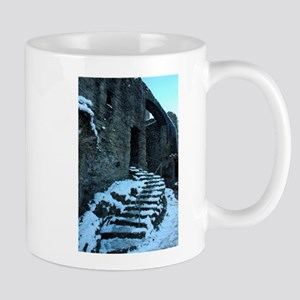 Icy Steps at Conwy Castle, Wales Mug
