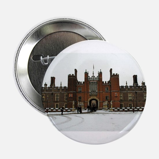 """Hampton Court Palace in the Snow 2.25"""" Button"""