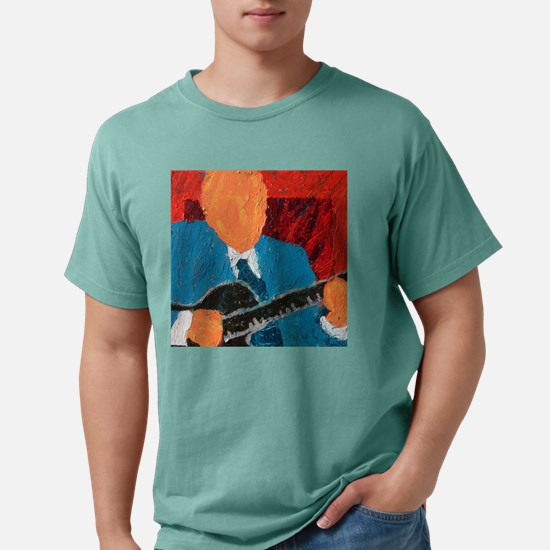 Belly Fiddle Frisbee Mens Comfort Colors Shirt