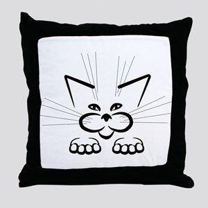Plotting attack! Throw Pillow