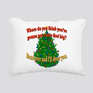 Griswold Christmas Tree Rectangular Canvas Pillow