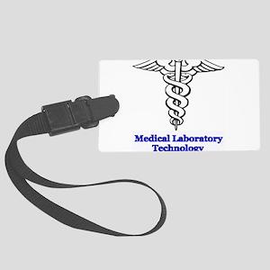 Medical Laboratory Technologist Large Luggage Tag
