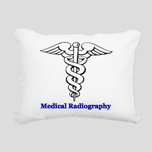 Medical Radiography Rectangular Canvas Pillow