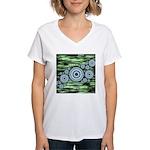 Space Women's V-Neck T-Shirt