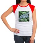 Space Women's Cap Sleeve T-Shirt
