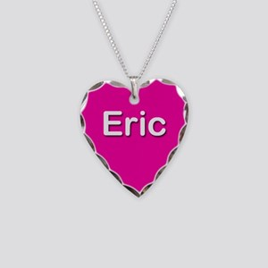 Eric Pink Heart Necklace Charm