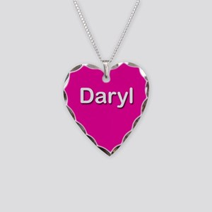 Daryl Pink Heart Necklace Charm