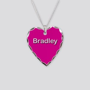 Bradley Pink Heart Necklace Charm
