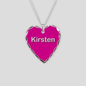 Kirsten Pink Heart Necklace Charm