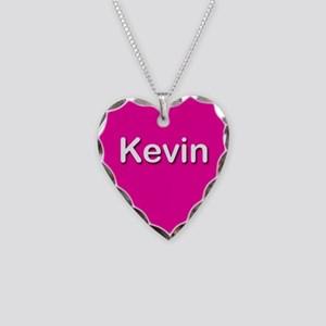 Kevin Pink Heart Necklace Charm