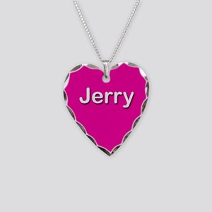 Jerry Pink Heart Necklace Charm