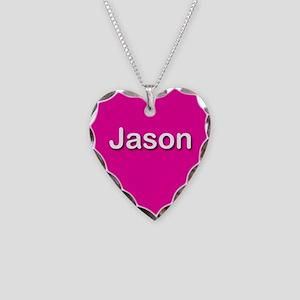 Jason Pink Heart Necklace Charm