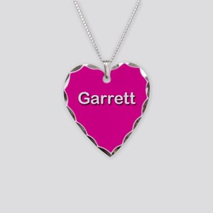 Garrett Pink Heart Necklace Charm