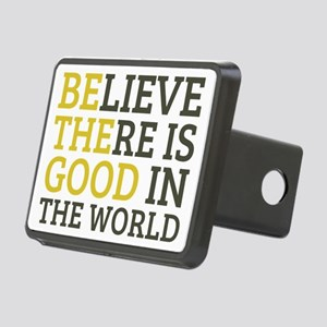 Believe There is Good Rectangular Hitch Cover