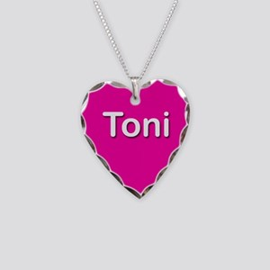 Toni Pink Heart Necklace Charm