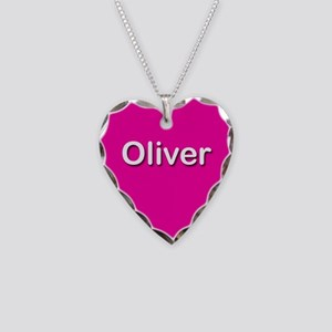 Oliver Pink Heart Necklace Charm