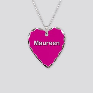 Maureen Pink Heart Necklace Charm