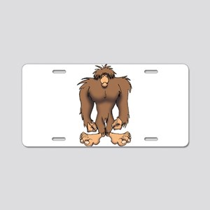 BIGFOOT Aluminum License Plate